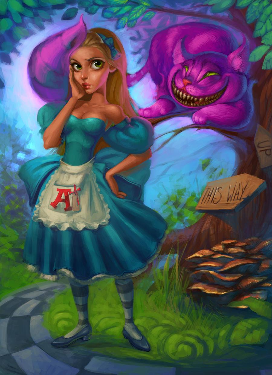 Alice in Wonderland by AlisZombie