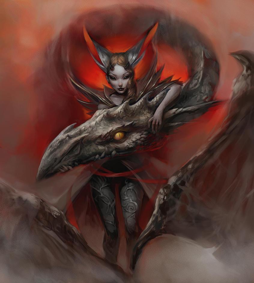 my personal dragon by AlisZombie