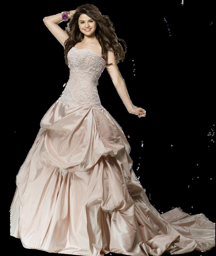 Selena Gomez Wedding Dress Png By Xlexierusso2 On Deviantart