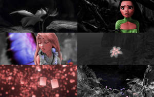 Moana and Rapunzel   Faries by xLexieRusso2