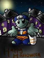 Fella halloween by sakuraartist