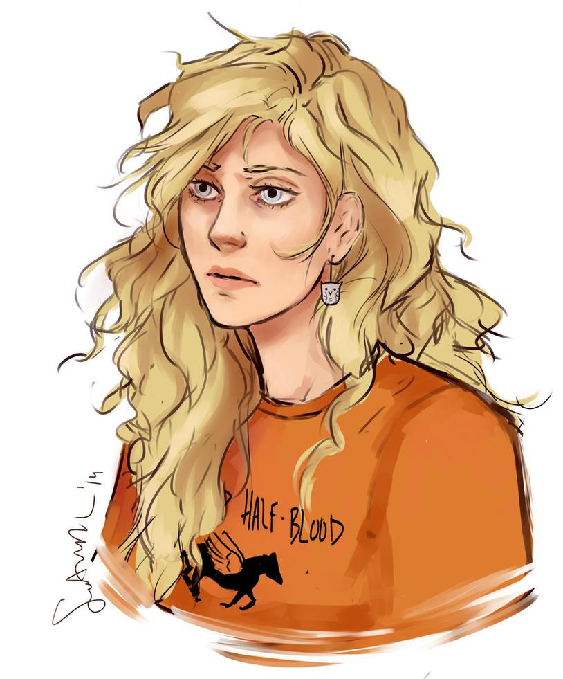 Annabeth doodle by sakuraartist