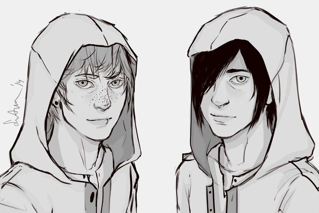 Assassin Brothers by sakuraartist