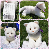 Douglas Cuddle Toy Fifi White Cat