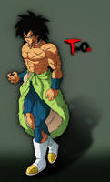 Broly tracing by Theo001