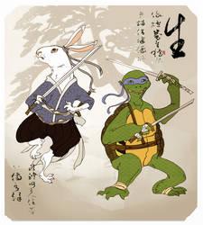 Leonardo Usagi Ukiyo-e