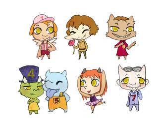 7 Little Monsters
