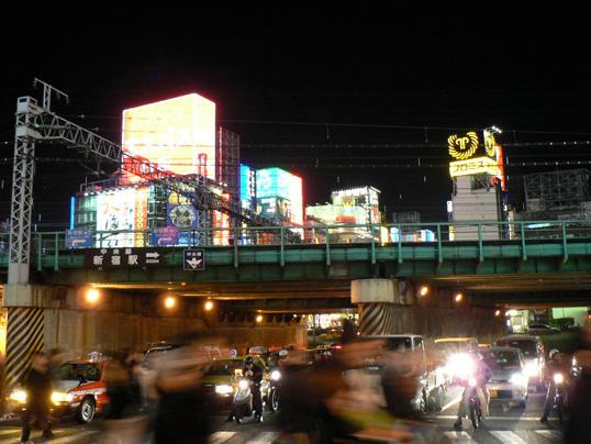 shinjuku bridge, tokyo by missi-alix