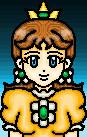Super Mario: Daisy by ArtySpartyGirl