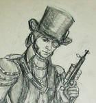 Steampunk Javert,  Closer