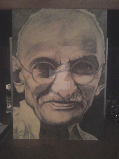 Gandhi by kas107