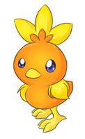Pokemon - Torchic by Hotaru-Neko