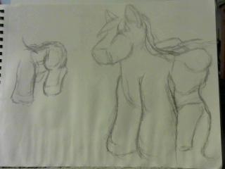 pony saddle bag beta concepts by Palandrose