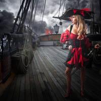 Pirates girl by DeZikki