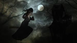 Ghotic witch by DeZikki