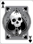 Skulled Ace of Spades