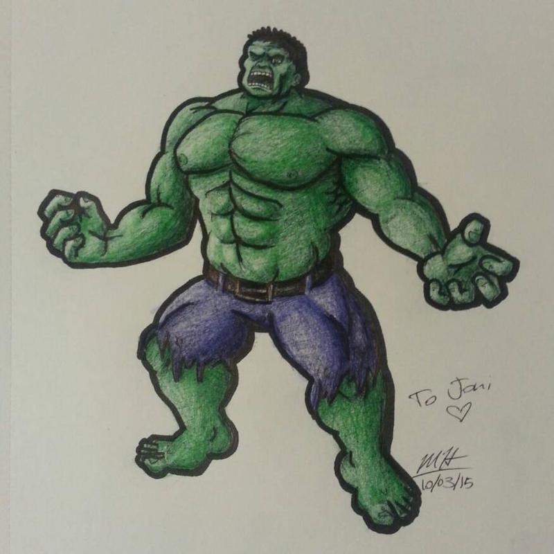 The Hulk by Mammal33