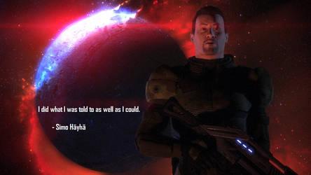 Mass Effect: William Shepard by LSDInkvizitor