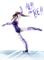 AL!!! on ICE by AlyasAnimations