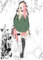 Naruto  Shippuden OC Hakymene Rose by Rozunne