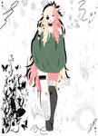 Naruto  Shippuden OC Hakymene Rose
