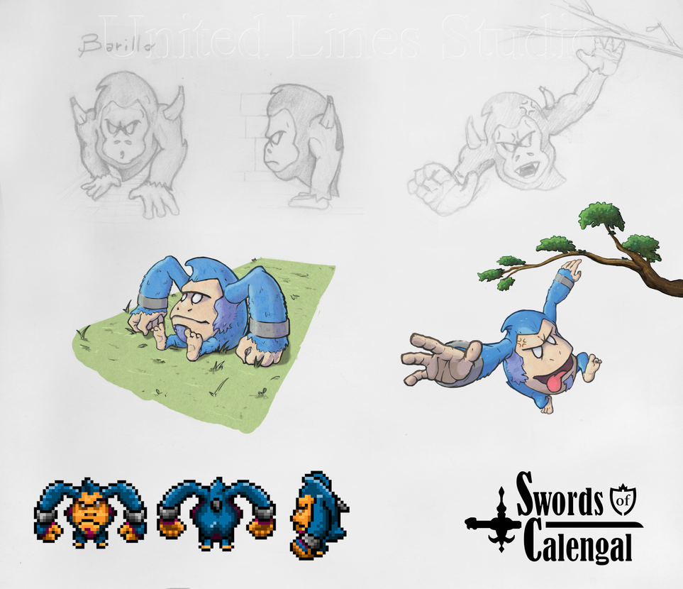 Barillo - Swords of Calengal (Concept Art) by simonseven
