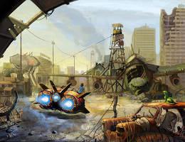 post apocalypse by sobaku-chiuchiu