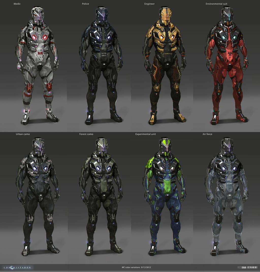 MC color schemes by sobaku-chiuchiu