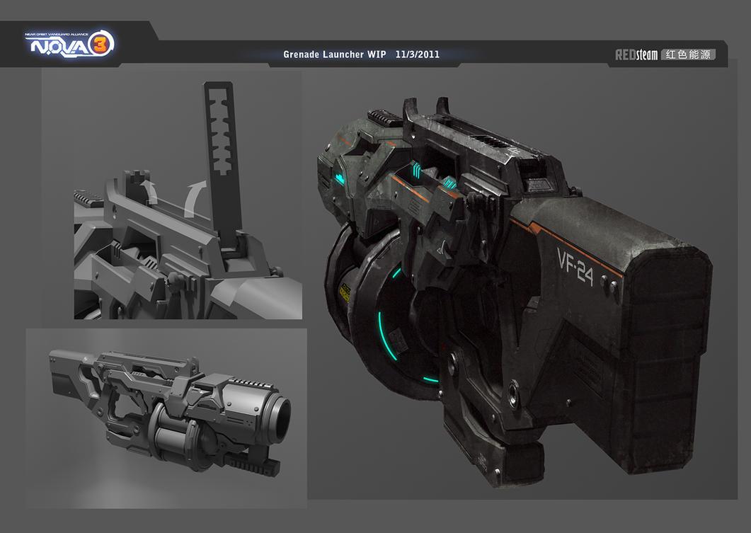 Grenade launcher by sobaku-chiuchiu