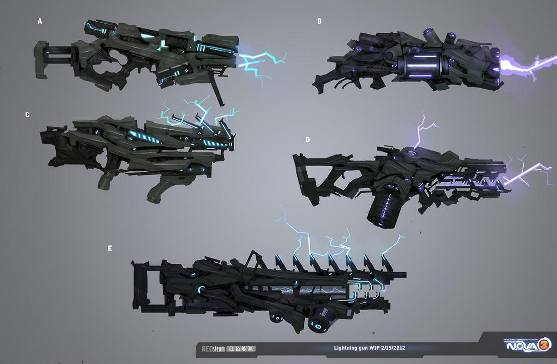 lightning gun by sobaku-chiuchiu