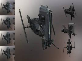 Caldari security drone by sobaku-chiuchiu