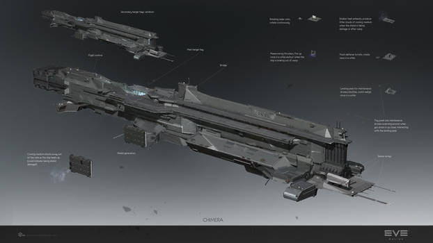 Chimera redesign front