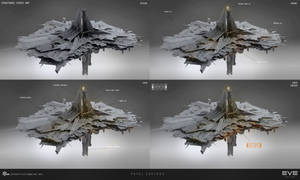 EVE online citadel medium by sobaku-chiuchiu