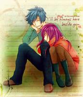 I'll Be Always Here Beside You by u-ne
