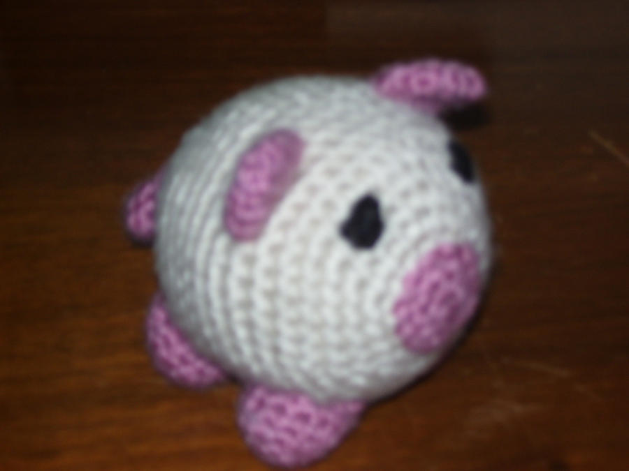 Cute Amigurumi Pigs : Amigurumi Pig by oliviasocean on DeviantArt