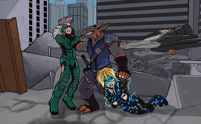 Artfight 2018: Bounty Hunted