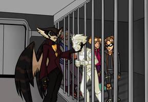 Artfight: Caged Birds