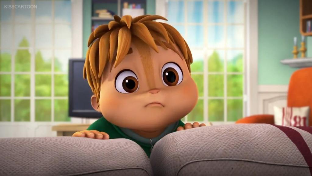 Theodore Chipmunk Cute