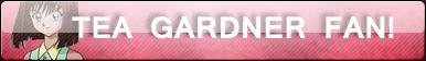 Tea Gardner Fan Button by Supremechaos918