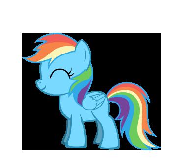 Baby Rainbow Dash by Supremechaos918