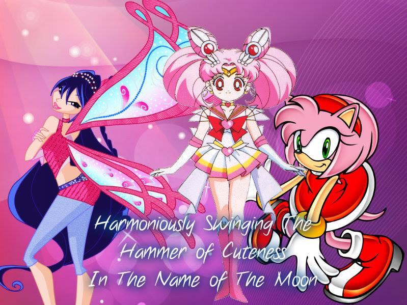RQ: Musa, Chibi-USa and Amy by Supremechaos918