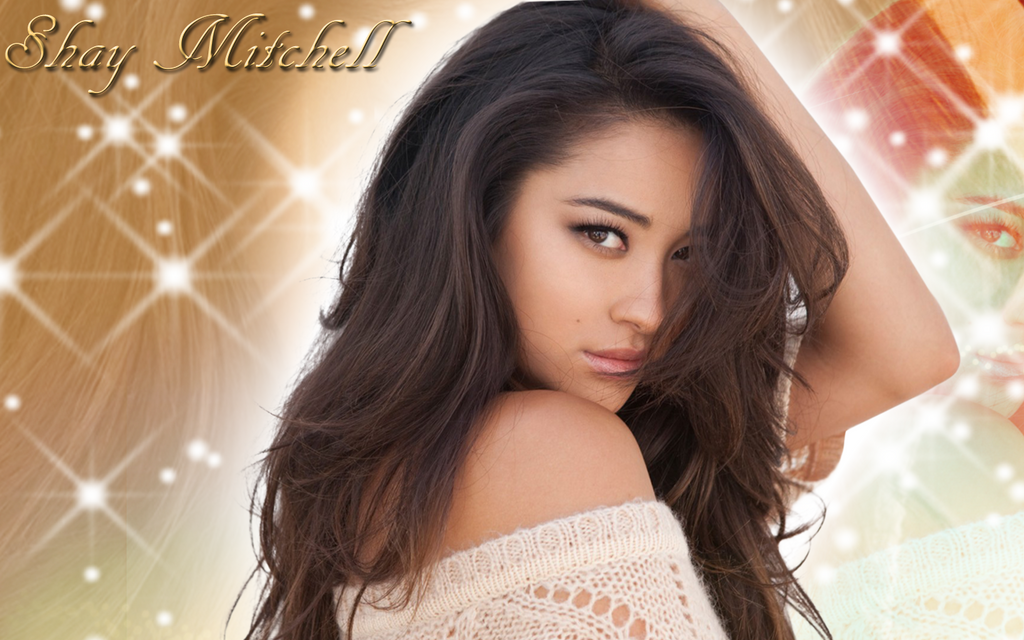 shay mitchell wallpaper by supremechaos918 on deviantart