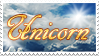 Gift-Family Stamp-Unicorn by Supremechaos918