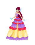 Merula Flower Princess Ball Gown