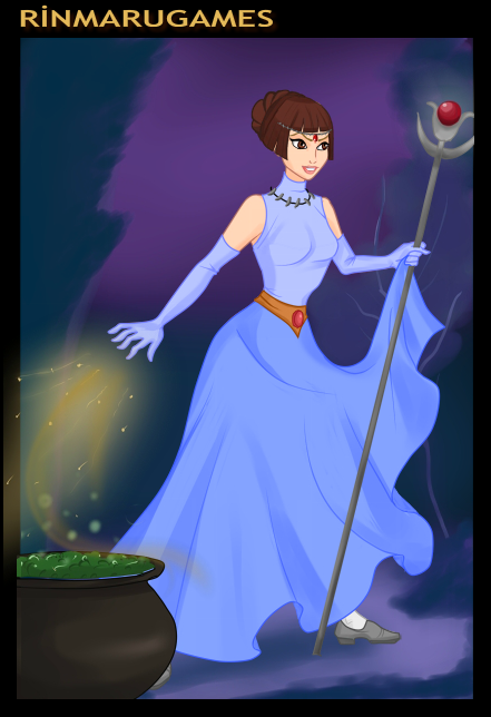 Gift- Good Witch Christine by Supremechaos918