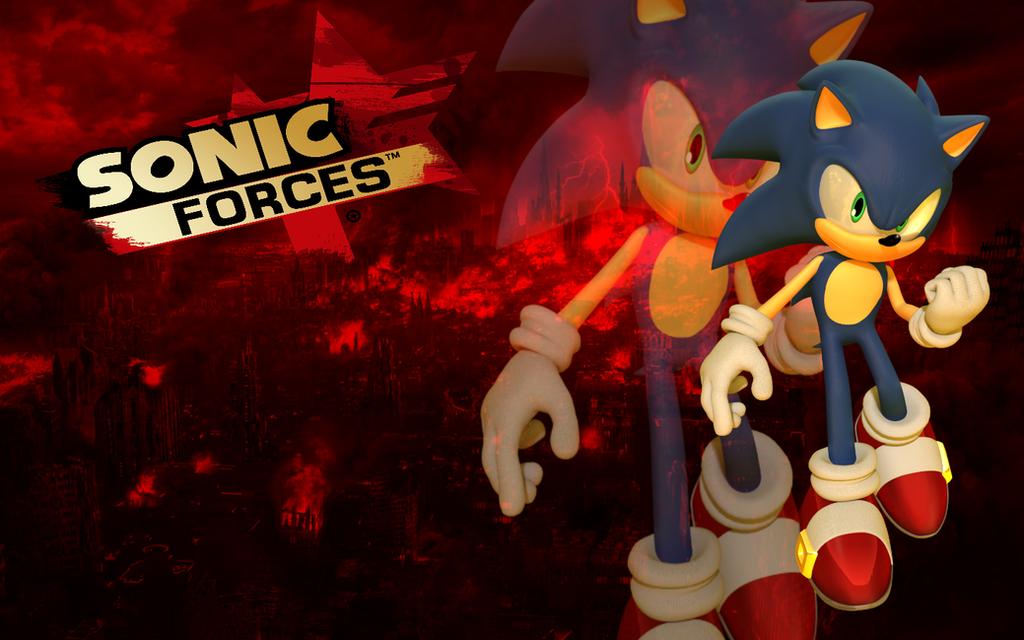Sonic Forces Logo By Nuryrush On Deviantart