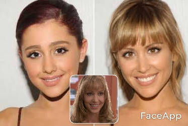 Ariana Grande/Shannon Elizabeth Face Swap