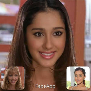 Shannon Elizabeth/Ariana Grande Face Swap