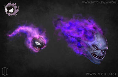 Ghastly in 2 Flavors by Mike086
