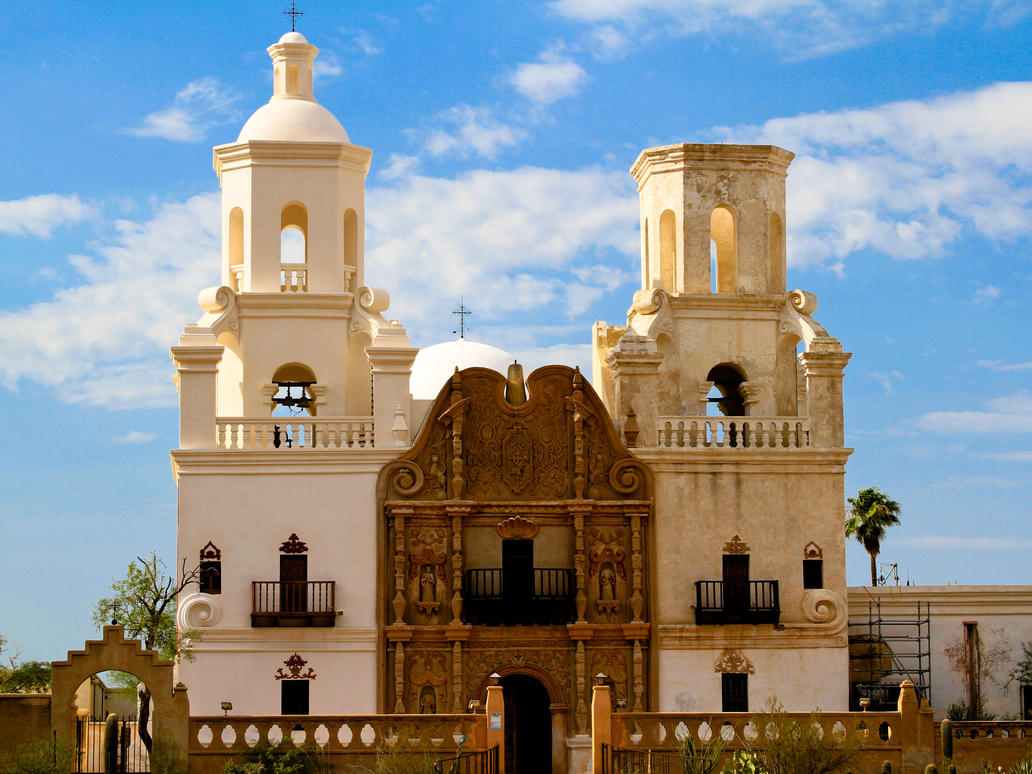 San Xavier Mission by IridiumEX on DeviantArt